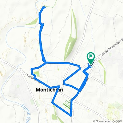 Restful route in Montichiari