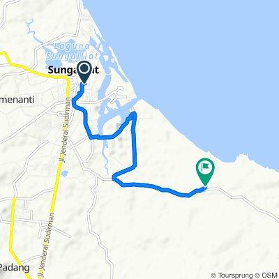 Jalan Rawa Bangun 10, Sungai Liat to Jalan Tanjung Pesona, Sungai Liat