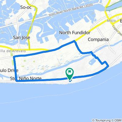 Restful route in Iloilo City