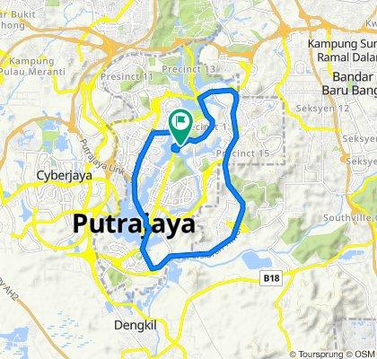 Malaysia, Putrajaya to Unnamed Road, Putrajaya