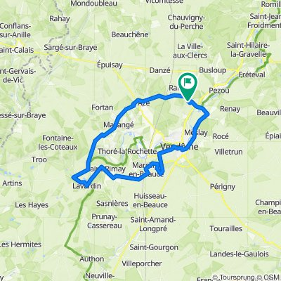 De Allée André Lorieux 2, Saint-Firmin-des-Prés à Allée André Lorieux 2, Saint-Firmin-des-Prés