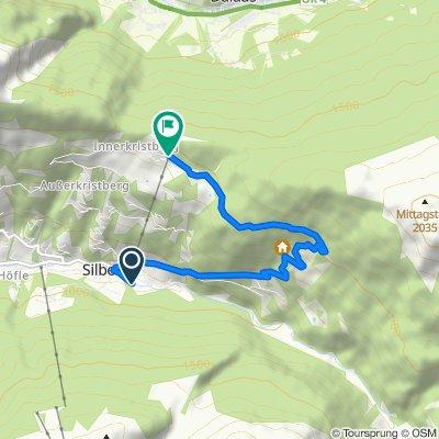Silbertal-Kristberg-Trail