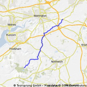 9 morning - hatchmere to lymm
