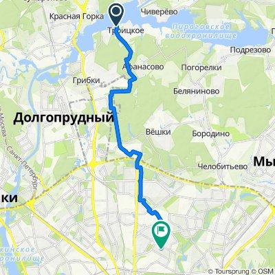 Маршрут в проезд Якушкина, 8, Москва
