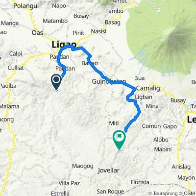 Bololo, Guinobatan to Unnamed Road, Camalig
