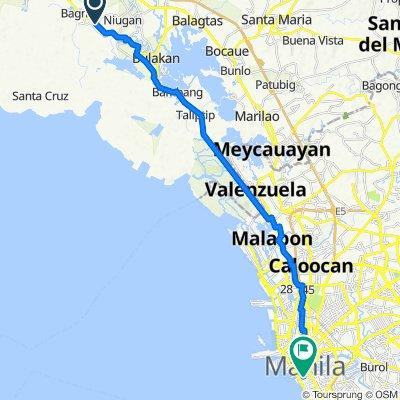 235 Bagna-Panasahan-Matimbo Road, Malolos City to Maria Orosa Street, Manila