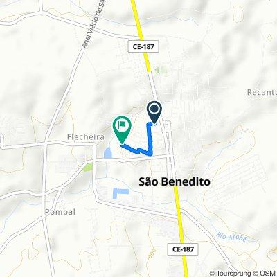 De Rua Antônio Filizola, 221–317, São Benedito a Rua Ritinha Filizola Vasconcelos, 261–417, São Benedito