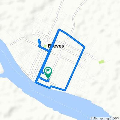 Caminhada lenta Breves