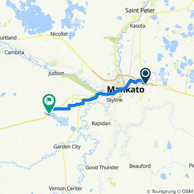 US-14 W, Mankato to Hudson St, Lake Crystal