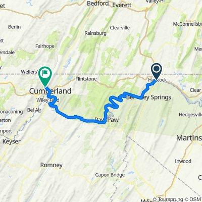 Hancock to Cumberland