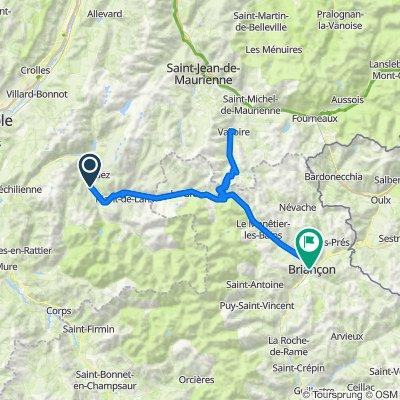 Etape 4: Bourg d'Oisans - Briançon