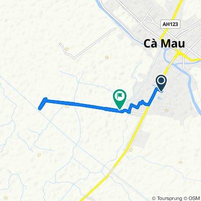 Restful route in Ca Mau