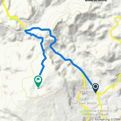 De Carretera a Olancho, Comayagüela a Unnamed Road