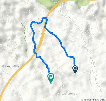 Restful route in Estepona