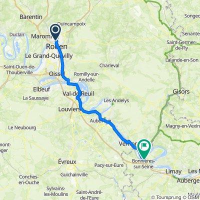 Paris à Mi-Route
