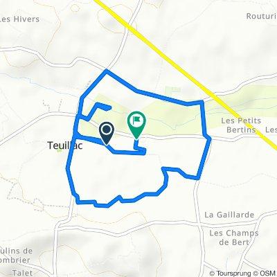 15 Chemin de Bouet, Teuillac to 29 Chemin de la Fontaine, Teuillac