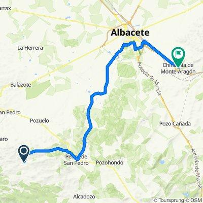Day 6 El Cahuco to Chincilla