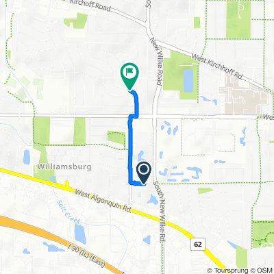 1869 W White Oak St, Arlington Heights to 3911 Wren Ln, Rolling Meadows
