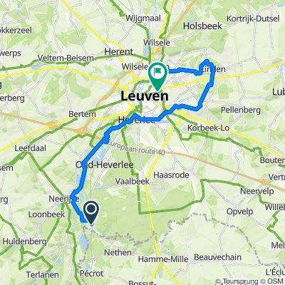Treinstapper St Joris Weert>Leuven