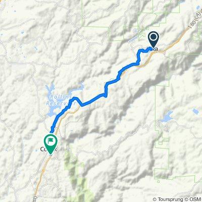 33950 Alta Bonnynook Rd, Alta to 424 S Auburn St, Colfax