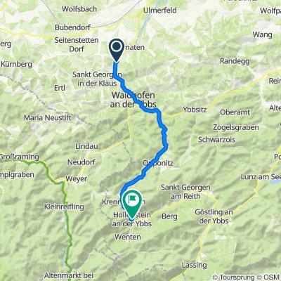 Rosenau am Sonntagberg- Hollnstein