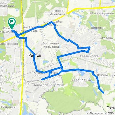 Велоездки летние Реутов - Салтыковка (дважды) 02 07 2020