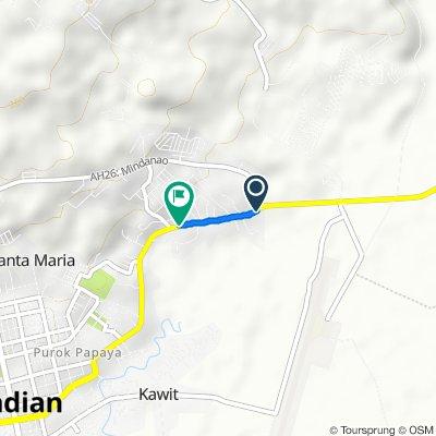 Asian Highway 26, Pagadian City to Bulatoc 132, Pagadian City