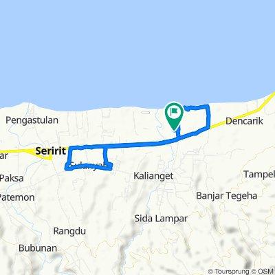 Jalan Segara 3, Kecamatan Banjar to Jalan Segara 3, Kecamatan Banjar