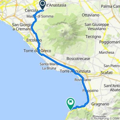Supersonic route in Castellammare di Stabia