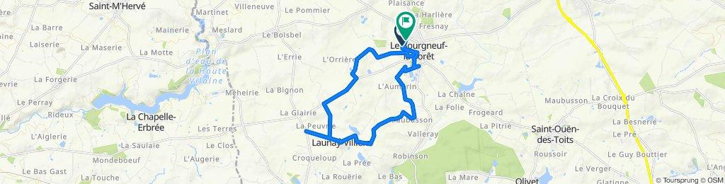 De 8 Impasse Pré Carré, Le Bourgneuf-la-Forêt à La Croixille, Le Bourgneuf-la-Forêt