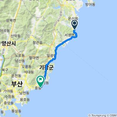 307-2 Jinha-ri, Ulju-gun to Dalmaji-gil, Haeundae-gu