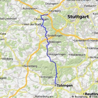 Leonberg - Tübingen