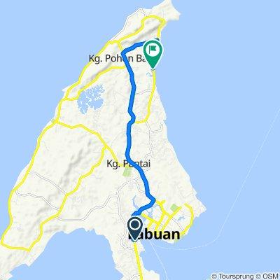 Blistering ride in Labuan