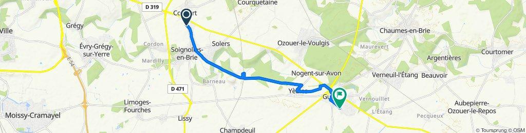 Steady ride in Guignes
