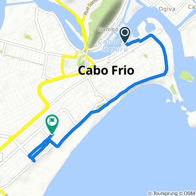 Steady ride in Cabo Frio