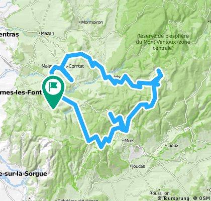 Cols de la Loire+Ardèche+Htes Alpes+Isère+Ain+Vaucluse