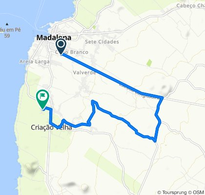 Easy ride in Madalena