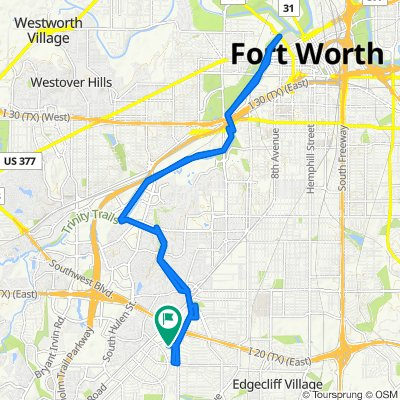 3925 Wedgway Dr, Fort Worth to 3929 Wedgway Dr, Fort Worth