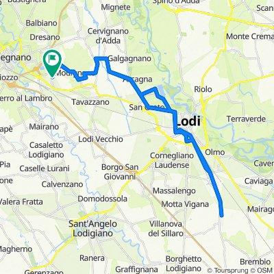 Da Via Don Luigi Savarè 1, Sordio a Via Don Luigi Savarè 1, Sordio
