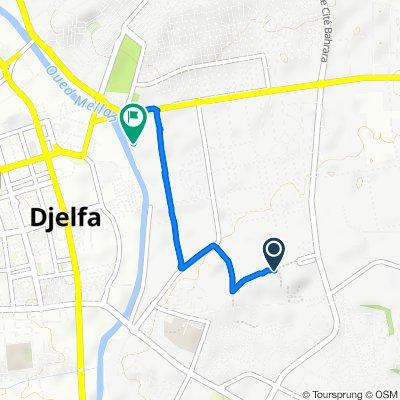 De Unnamed Road, Djelfa à N46, Djelfa