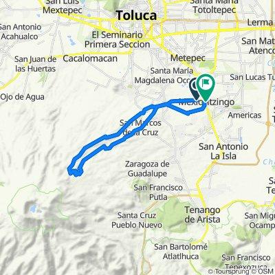 Ruta a Calle 5 de Febrero 10, San Mateo Mexicaltzingo