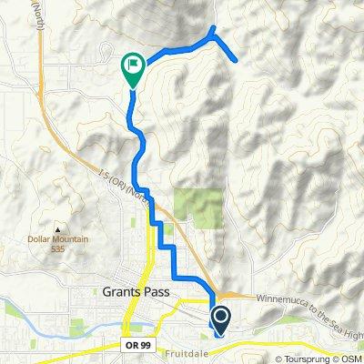 1150 SE Casey Pl, Grants Pass to 1973–2499 Granite Hill Rd, Grants Pass