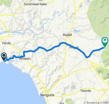 coastal route day 10 Unnamed Road to Kaleli Road, Mangaon
