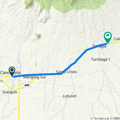 Candelaria to Pan-Philippine Highway, Sariaya