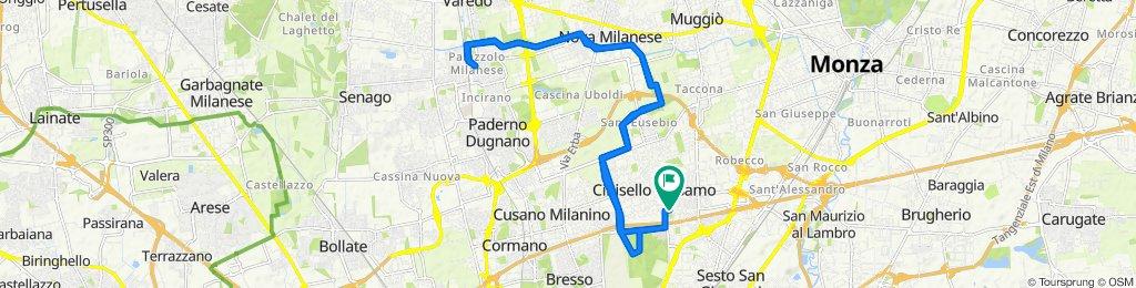 Da Via C. Martinelli 44, Cinisello Balsamo a Via C. Martinelli 37, Cinisello Balsamo
