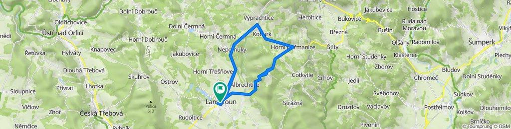 Trasa I. etapy – RO2021
