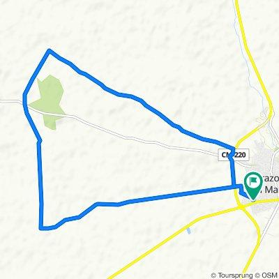 De Calle Nueva 60, Tarazona de la Mancha a Calle Nueva 68, Tarazona de la Mancha