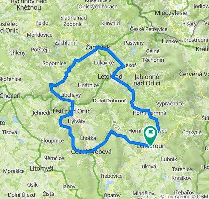 Trasa IV. etapy – RO2021