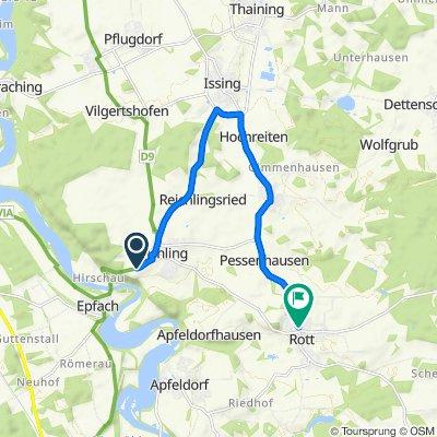 LL8, Reichling nach Landsberger Straße 7A, Rott