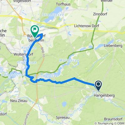 "Route: 9. Etappe ""66-Seen-Wanderweg"": Sieger nach Punkten"